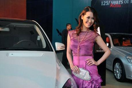 MC, DVĐA – Dương Thùy Linh - Mercedes GLK chiếc xe đa dụng