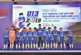 """Khởi động """"Giải bóng đá thiếu niên U13 Yamaha Cup 2019″"""